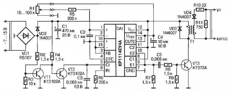 Регуляторы мощности сварочных аппаратов понижающий стабилизаторы напряжения