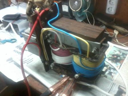 Как из сварочного аппарата сделать зарядное дмитров ремонт сварочных аппаратов
