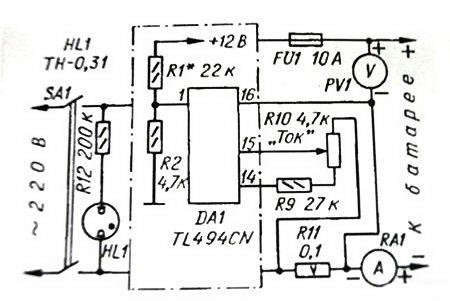 Sd6109 схема блока питания